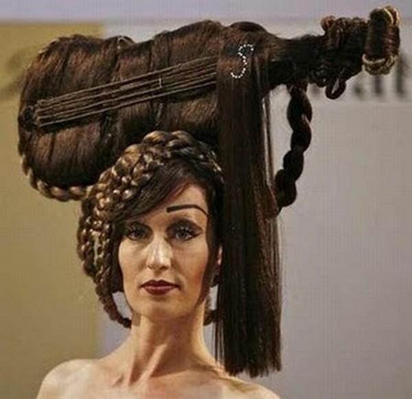 Причёски на выступление