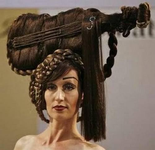 Оригинальные причёски на длинные волосы