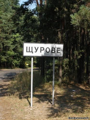 Курорт Щурово окружают