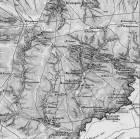 Карта територии города Енакиево 1850 года